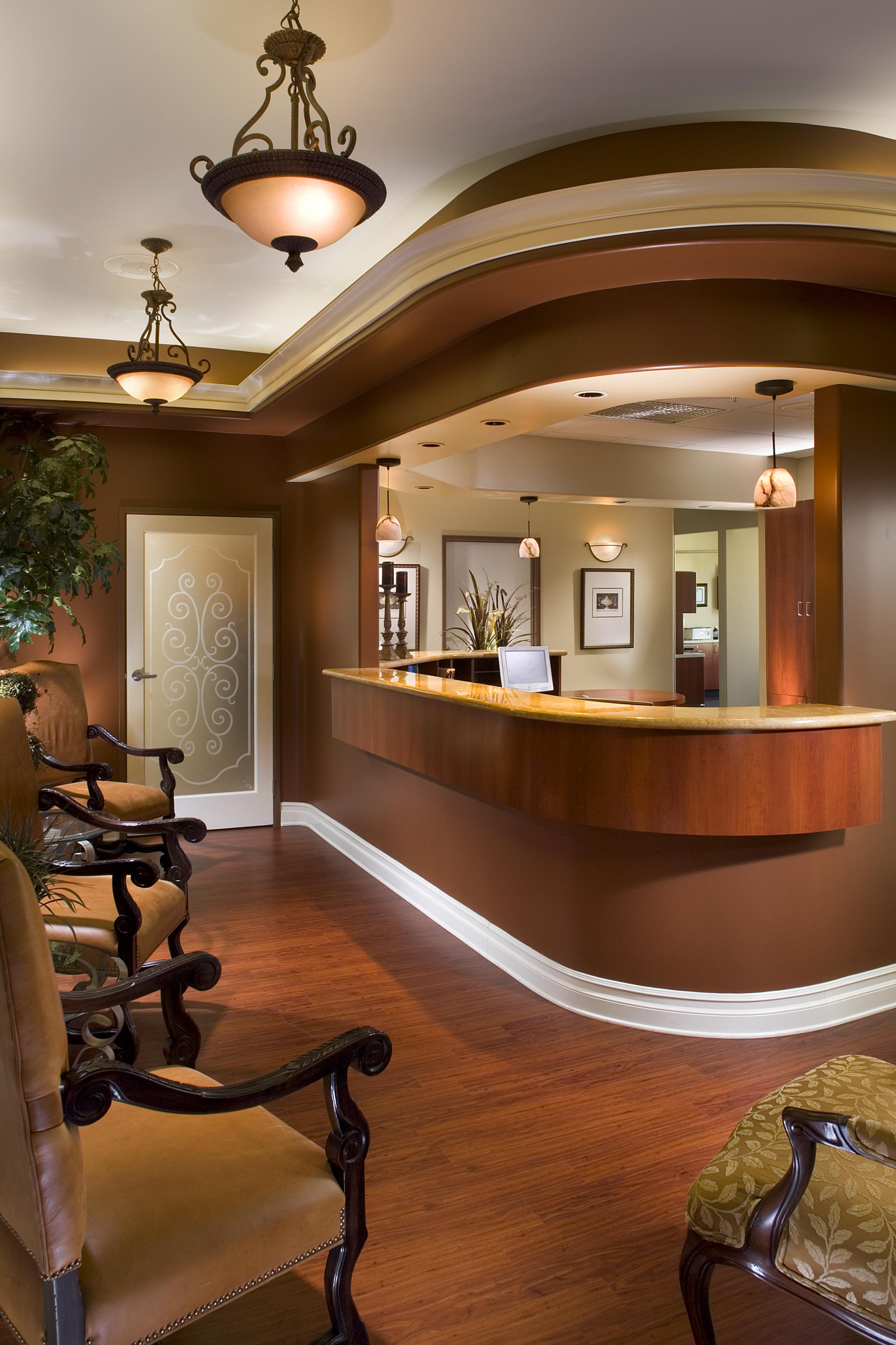 Moreno Dental Office Reception Area