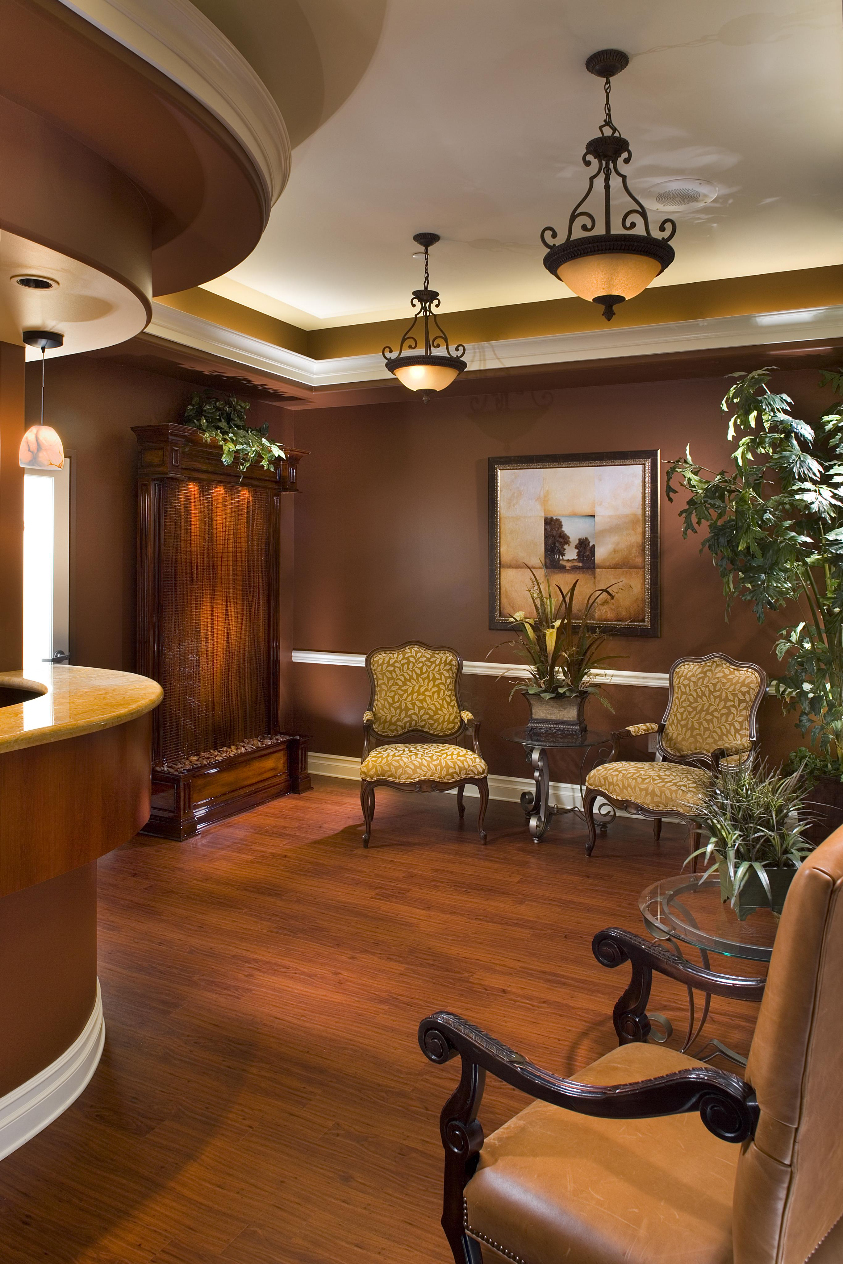 Moreno Dental Office Waiting Area