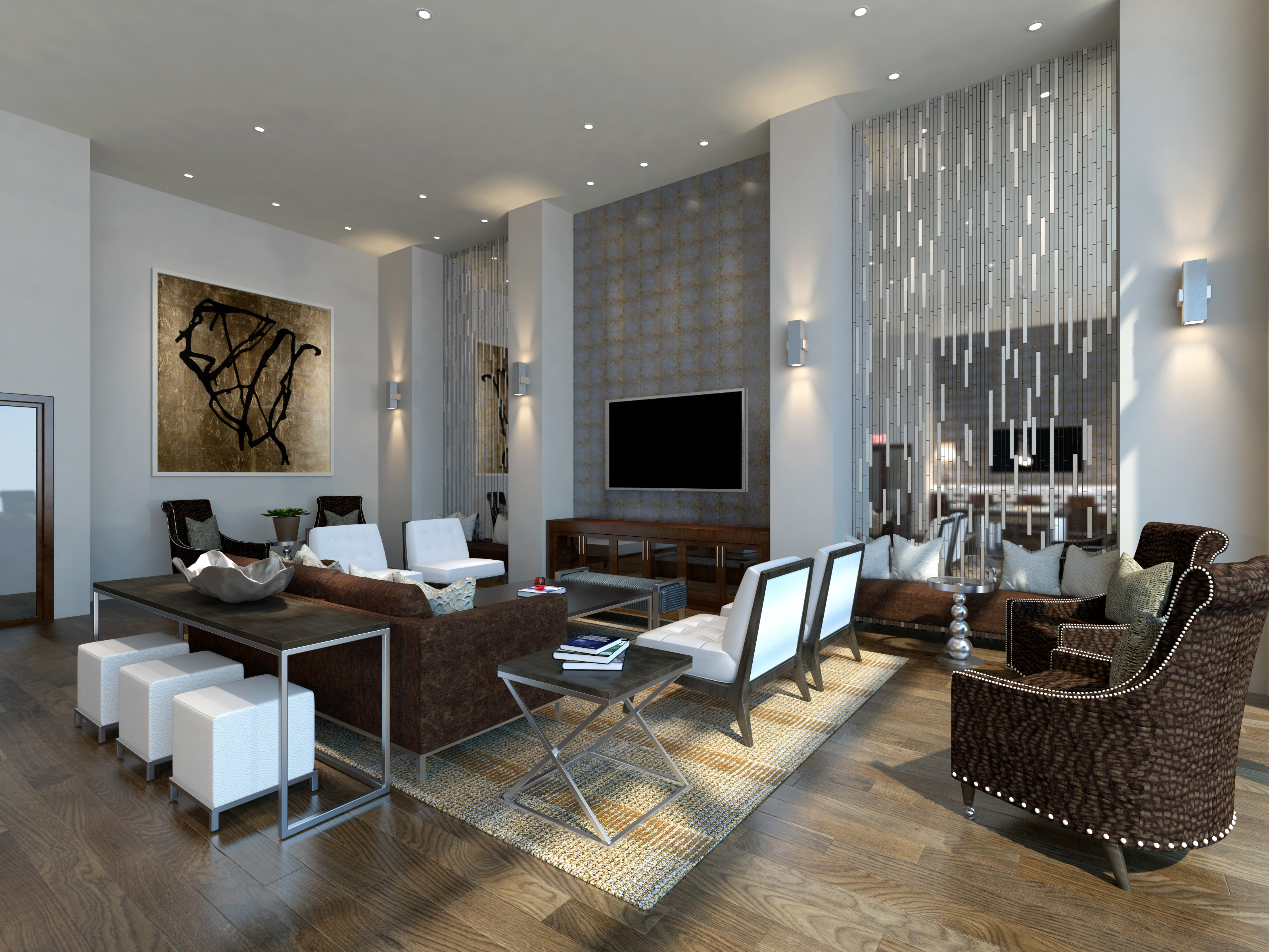 Descante Design Monrovia Clubroom Leasing Office